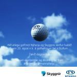 Golfmót Nýherja og Skyggnis. Verkefnastýring, verkefnastjórnun, laila.is, Laila Sæunn Pétursdóttir, Laila Pétursdóttir