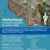 Verkefnastýring og markaðssetning: Heilsuhlaup Krabbameinsfélagsins, Laila.is, Laila Pétursdóttir, Laila Sæunn Pétursdóttir