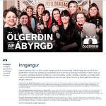 Ölgerðin - skýrsla um samfélagsábyrgð, laila.is, Laila Sæunn Pétursdóttir, Laila Pétursdóttir