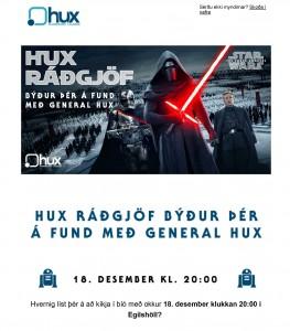 Bíóferð fyrir Hux-Ráðgjöf - viðburðastjórnun